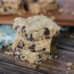 GF Oatmeal Peanut Butter Chocolate Chip Bars