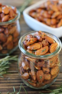 Bacon Rosemary Sea Salt Almonds