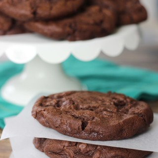 bakery-style chocolate chocolate chip cookies