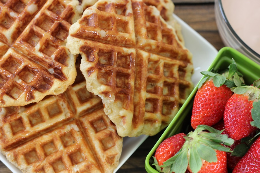 how to make sweet belgian waffles