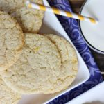 Gluten-Free Lemon Sugar Cookies