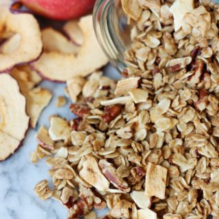 dutch apple pie granola