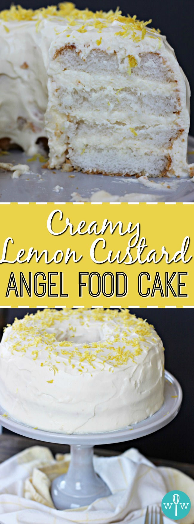 Angel Food Cake Refrigerate