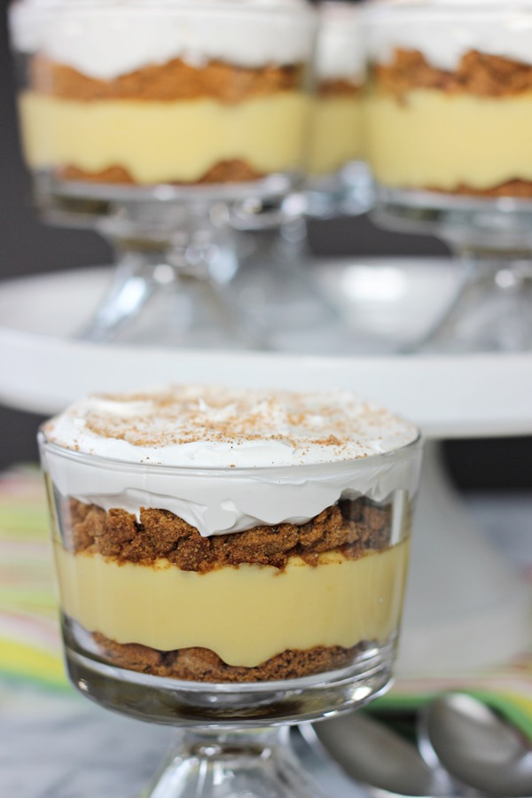 Eggnog Gingersnap Trifles | Worth Whisking